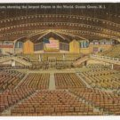 Interior Auditorium-Ocean Grove New Jersey Postcard