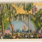 Open Air Band Concert-st Petersburg Florida Postcard