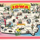 Greetings from Iowa State Map