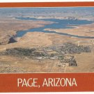 Aerial view of Page Arizona