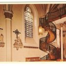 Stairway-Our Lady of Light Chapel-Santa Fe New Mexico Postcard