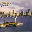 San Diego California Postcard