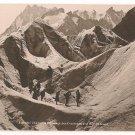 Chamonix-Passage des Crevasses a la Mer de Glace