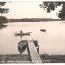 Sand Lake near Deer River Minnesota RPPC