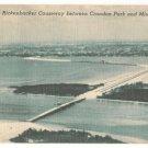 New Rickenbacker Causeway between Crandon Park and Miami Florida