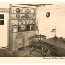 Basement Kitchen-Betsy Ross House-Philadelphia Pennsylvania RPPC