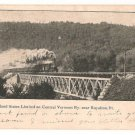 New England States Limited on Central Vermont Ry. near Royalton Vermont