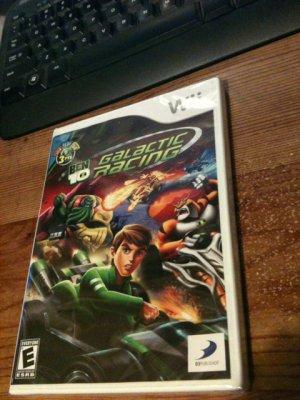 NEW! Ben 10 Galactic Racing (Wii)