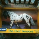 BREYER The Four Seasons Treasure Hunt WINTER Matte #1420 appaloosa