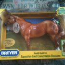 NEW BREYER ELCR Glossy Red Dun #1428 equestrian land conservation resource