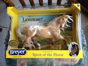 Breyer Lionheart #760520 LIMITED EDITION 2012 Flagship SR