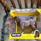 NEW BREYER Brookside Pink Magnum #1482 bouncer mold red roan pony CUTE!