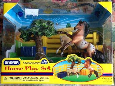 BREYER Stablemates Horse Play Set #5409