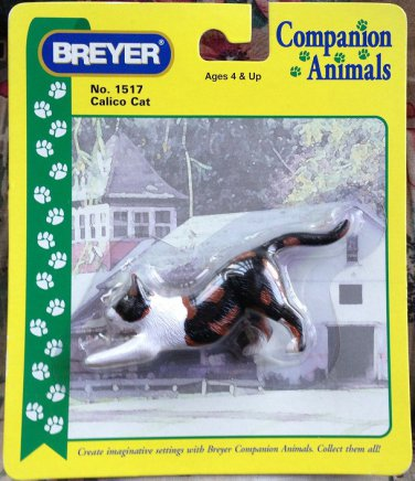 BREYER Companion Animals Calico Cat #1517