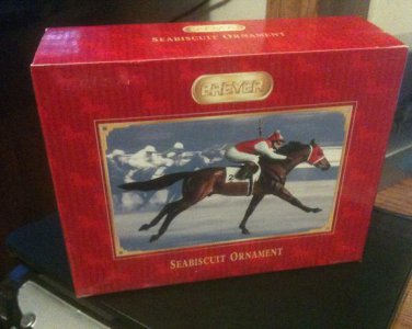 BREYER Seabiscuit Ornament #700156