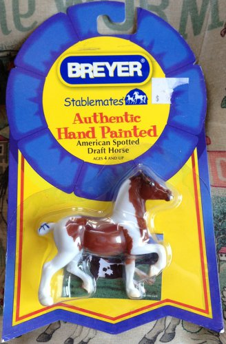 BREYER Stablemates American Spotted Draft Horse #5907