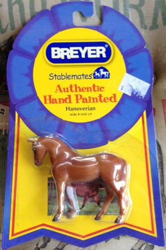 BREYER Stablemates Hanoverian #5907 G3 Standing Thoroughbred