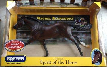 BREYER Rachel Alexandra #1429 race horse thoroughbred ruffian mold
