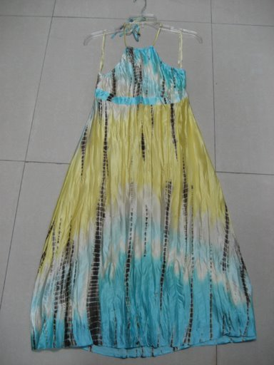 BCBG Silk Tie Dyed Halter Dress Size 2, 4 ,6