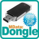 Dongle + 3G SIM Card + US$100 Credit