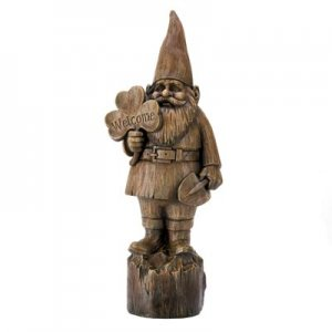14790 - NEW> Welcome Gnome Statue