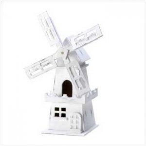 14623 - NEW>  Windmill Birdhouse