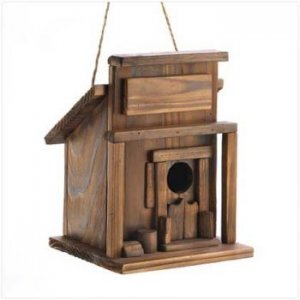 14651 - NEW> Western Saloon Birdhouse