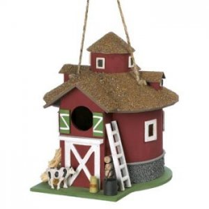 14779 - NEW> Barnyard Birdhouse