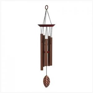 14590 - NEW> Coppery Chimes Windchime