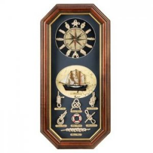 14752 - NEW> Seafaring Wall Clock