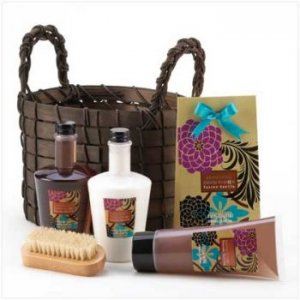 14252 ~ Exotic Fusion Bath Basket ~ Mother's Day Special
