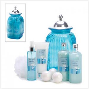 14394 ~ Coco-Vanilla Bath Luxury Set ~ Mother's Day Special