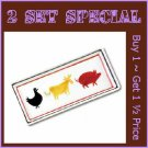 37758 ~ Animal Serving Tray ~ Summer Special