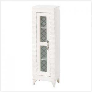 38835 ~ Ivory Media Cabinet