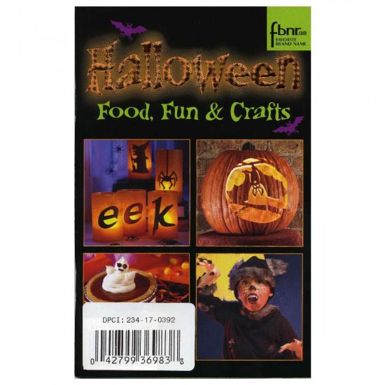 Halloween Food Fun & Crafts Magazine