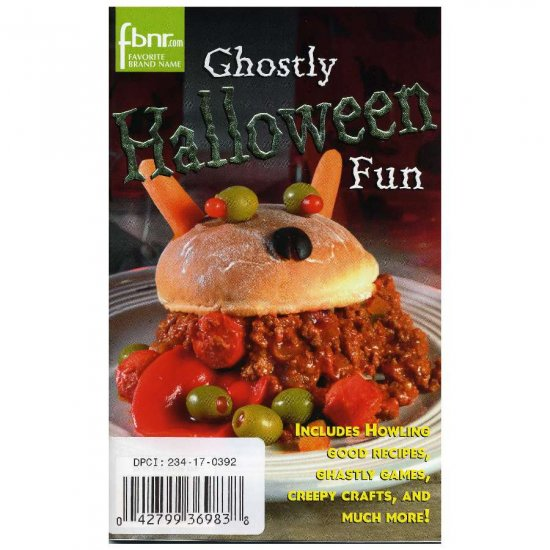 Ghostly Halloween Fun Magazine