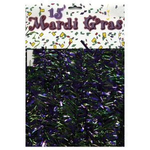 Mardi Gras Garland - 15 feet