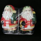 Santa Claus with Tree Salt & Pepper Shakers Dispenser
