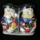 Snowmen Snowman Holiday Salt & Pepper Shaker Dispenser