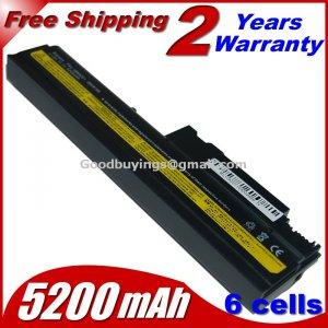 Free shipping Battery For IBM ThinkPad R50 R50E R50P R51 R52 T40 T40P T41 T41P T42 T42P T43 T43P