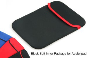 Black Sleeve Case for Apple iPad