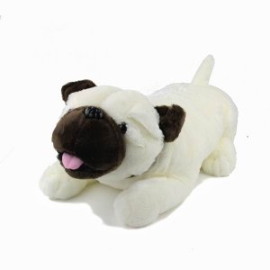 Lovely Plush Stuffed Soft Bulldog Doll Toy Animal Pet New