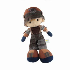 Lovely Cute Soft Boy Stuffed Doll Kids Toy with Clothes New