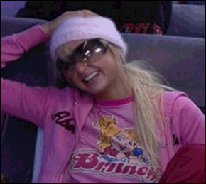 Junk Food Original Britney Chipmunks tee shirt aso Paris Hilton
