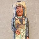 Blue Coat 6 ft Cigar Store Indian Cavalry Sargent at Arms Buffalo Chief