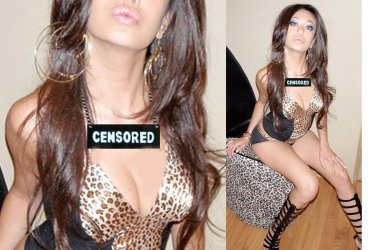 CENSORED NECKLACE CHOKER