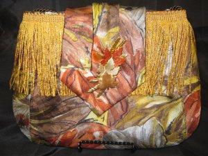 Gold leaf Neck Tie Purse