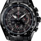 CASIO EDIFICE EF550PB-1 MENS CHRONOGRAPH RETROGRADE STAINLESS STEEL DRESS WATCH