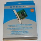 DYNEX  3 PORT IEEE 1394 PCI HOST ADAPTER