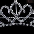 Bridal, Bachelorette, Sweet 16, Quinceanera Cown/Tiara w/Rhinestones